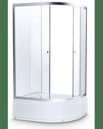 Душевая кабина 122/2 Avanta 120*80 серое стекло (правая)