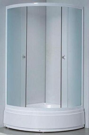 Душевая кабина 132/2 Avanta 100*100 рифлённое стекло