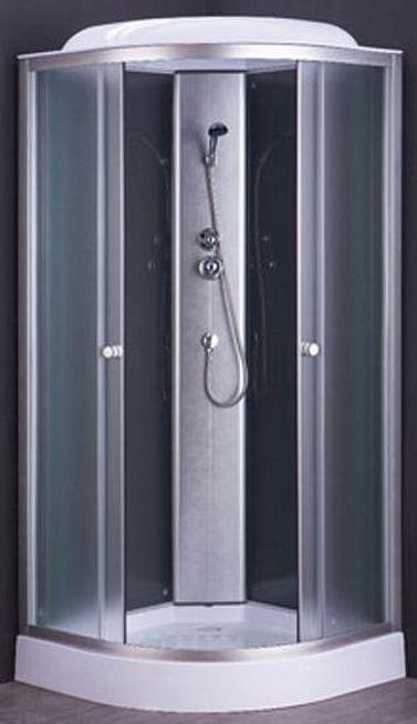 Душевая кабина 1710/7 Avanta 100*100 рифлёное стекло