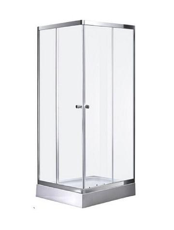 Душевая кабина D107/2 Avanta 90*90 рифлёное стекло