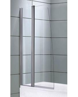 Душевой экран DS 30/50 Avanta 80*150 прозрачное стекло
