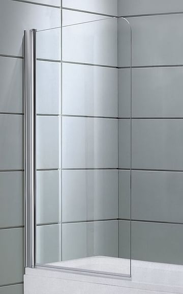 Душевой экран DS 80 Avanta 80*150 прозрачное стекло