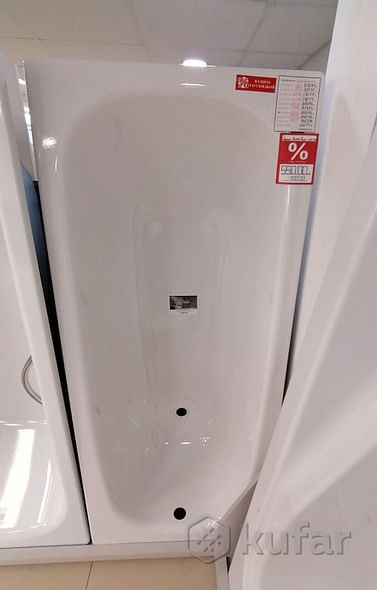 Ванна стальная Bette Form 170*70*42 белая (без ножек)