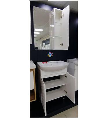 Комплект Родорс 55: тумба с умыв. + шкаф с зеркалом