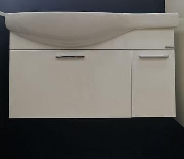 Тумба с умывальником Инди 80 (подвесная)