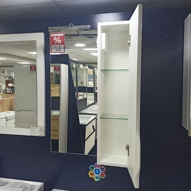 Зеркало-шкаф правое Аквародос Родорс 55 правое