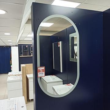 Зеркало Континент Delight LED 55x100