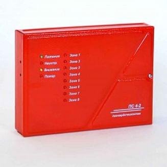 Прибор приёмно-контрольный пожарный ПС 4-2 АвангардСпецМонтажПлюс