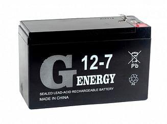 Аккумуляторная батарея G-energy 12-7 F1 G-energy