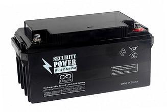 Аккумуляторная батарея Security Power SPL 12-65 12V/65Ah Security Power