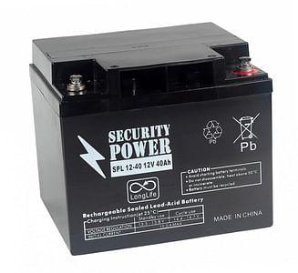 Аккумуляторная батарея Security Power SPL 12-40 12V/40Ah Security Power