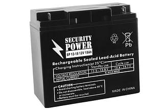 Аккумуляторная батарея Security Power SP 12-18 12V/18Ah Security Power
