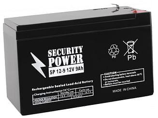 Аккумуляторная батарея Security Power SP 12-9 F1 12V/9Ah Security Power