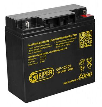 Аккумуляторная батарея Kiper GP-12200 12V/20Ah Kiper