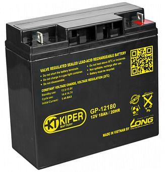 Аккумуляторная батарея Kiper GP-12180 12V/18Ah Kiper
