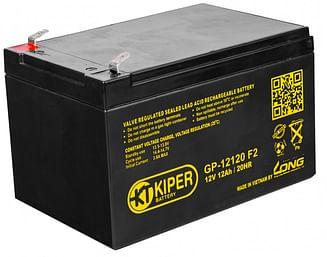 Аккумуляторная батарея Kiper GP-12120 F2 12V/12Ah Kiper