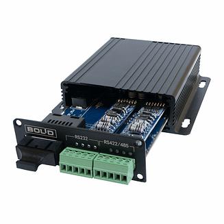 RS-FX-SM40 Преобразователь интерфейсов RS232/422/485 в оптику и обратно Болид