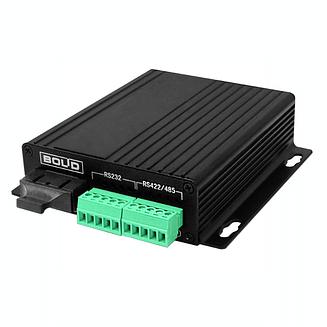 RS-FX-MM Преобразователь интерфейсов RS232/422/485 в оптику и обратно Болид